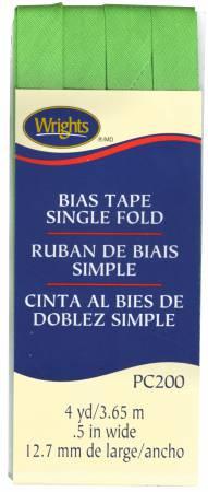 Single Fold Bias Tape Green Glow