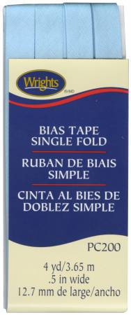 Single Fold Bias Tape Blue