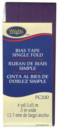 Single Fold Bias Tape - Plum