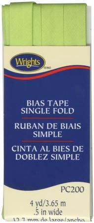 Bias Tape Single Fold Lime Green