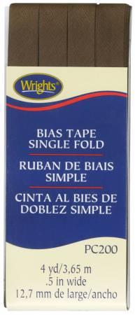 Single Fold Bias Tape Mocha