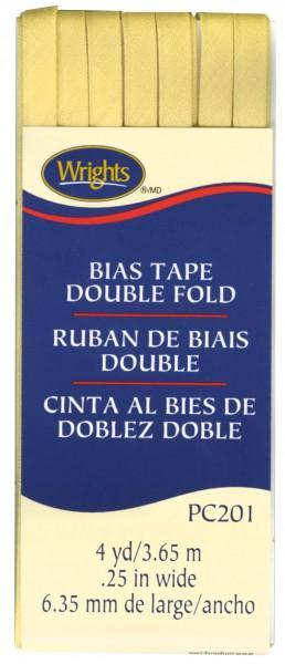Double Fold Bias Tape- Lemon Ice
