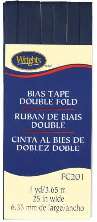 Double Fold Bias Tape - Navy 055