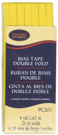 Double Fold Bias Tape Canary 086