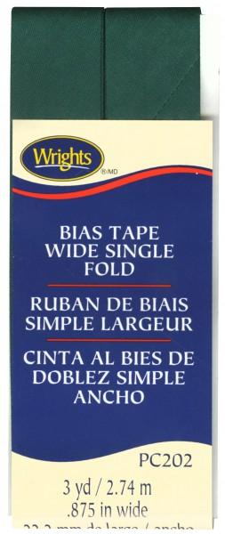 Bias Tape Wide Single Fold Jungle Green