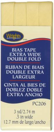 Bias Tape Wright's Extra Wide Double Fold Lemon Ice