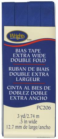 Bias Tape Wright's Extra Wide Double Fold Yale
