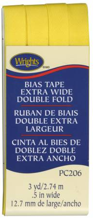 Extra Wide Double Fold Bias Tape Canary