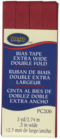 Extra Wide Double Fold Bias Tape Brick