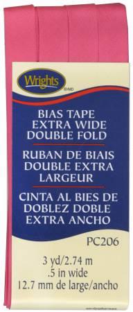 Extra Wide - Double Fold - Bias Tape - Berry Sorbet - W206-1232