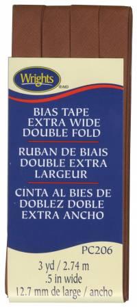 Extra Wide - Double Fold - Bias Tape - Bark - W206-1236
