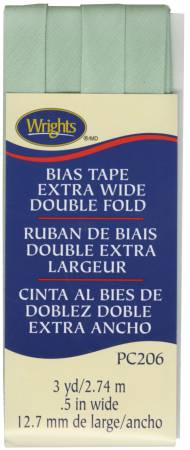 Bias Tape Wright's Extra Wide Double Fold Sea Foam
