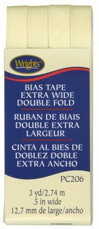 Extra Wide - Double Fold - Bias Tape - Baby Maize - W206-927