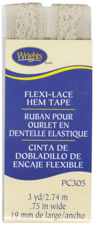 Flexi-Lace Beige Hem Tape