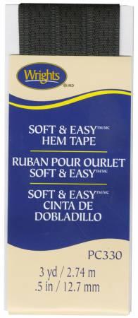 Soft and Easy Hem Tape Black - 031