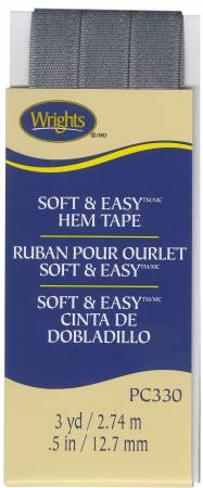 Soft and Easy Hem Tape Pewter