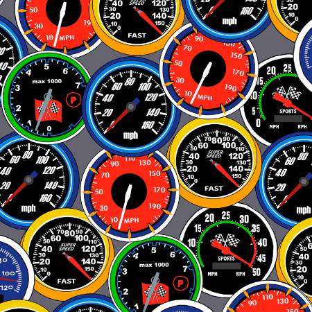 Speedometers gray