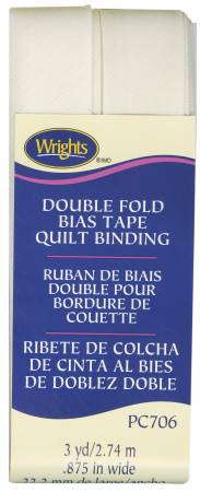 OYSTER DOUBLE FOLD QUILT BINDING