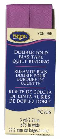 Quilt Binding 3yd Radiant Orchid