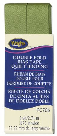 Wrights Double Fold Quilt Binding Leaf