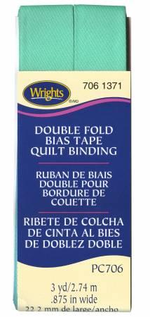 Wrights Quilt Binding 3yd Aquamarine