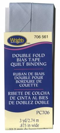Quilt Binding 3yd Lilac Grey