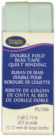 Double Fold Quilt Binding Seafoam