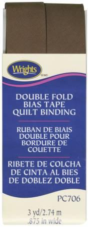 Double Fold Quilt Binding Mocha