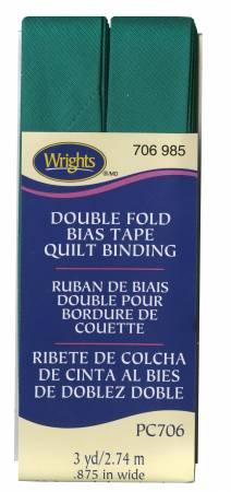 Wrights Quilt Binding 3yd Irish Clover