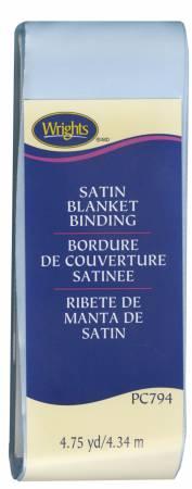 Satin Blanket Binding Blue