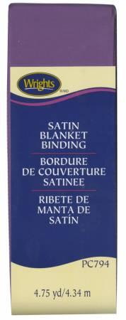 Wrights Polyester Blanket Binding 4-3/4yd Purple