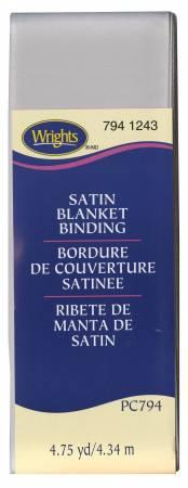 WRIGHTS Poly Blanket Binding 4.75yd  Shadow