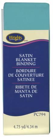 Satin Blanket Binding Aquamarine 2