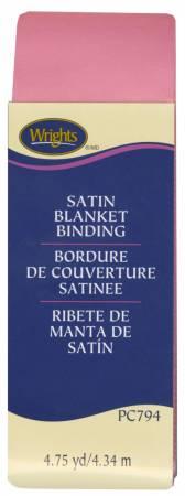 Satin Binding Candy Pink Blanket