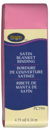 Satin Blanket Binding Hot Pink