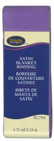 Satin Blanket Binding Grape