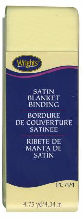 Satin Blanket Binding Maize