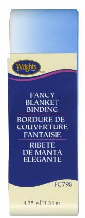 BLUE OMBER BLANKET BINDING