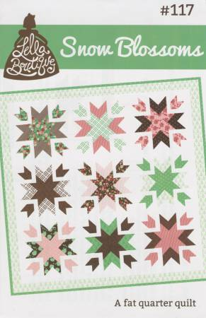 Snow Blossoms Pattern