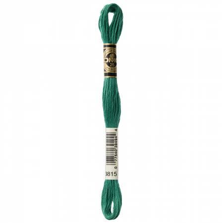 DMC - Floss Dark Celadon Green - 117UA-3815