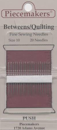 Piecemaker Between / Quilting Needles Size 10