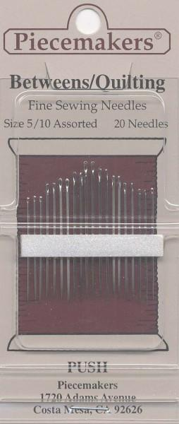 Between / Quilting Needles Size 5/10