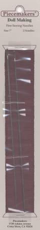 Piecemaker Dollmaking Needles 7in