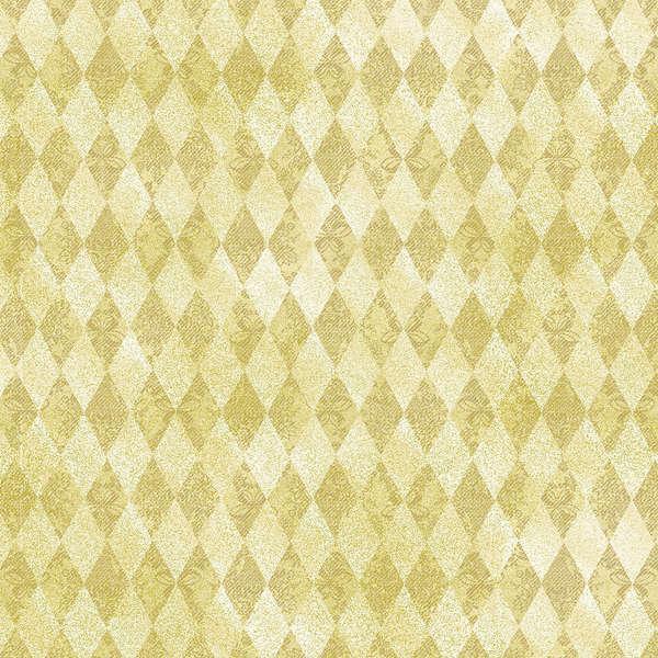 Cream Diamonds w/Metallic431