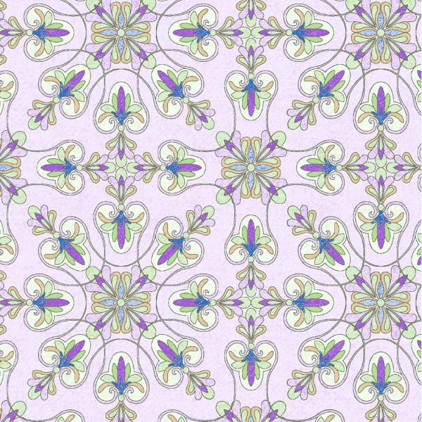 Light Purple Floral