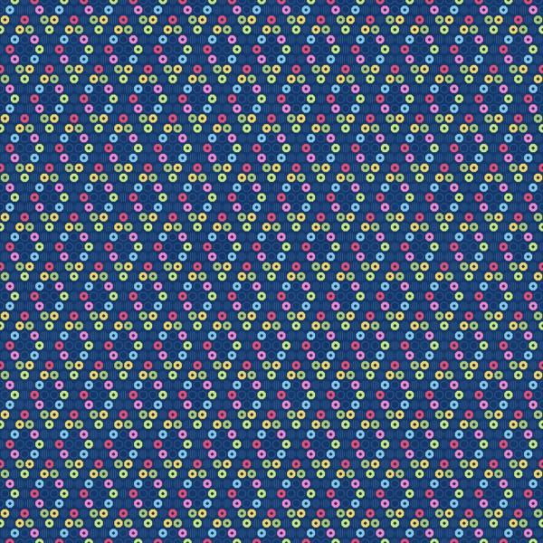 Blue/Multi Sequin Diamonds601