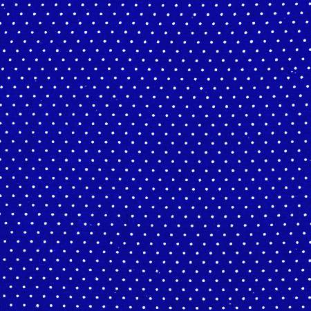 Royal/White Micro Dot