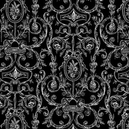 Black and White Damask: Sophisticates by Ro Gregg for Paintbrush Studio