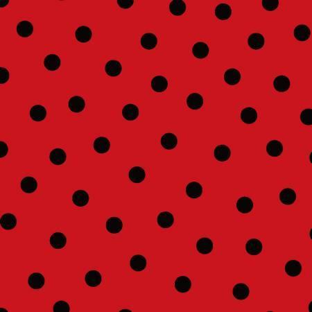 Red/Black Polka Dots