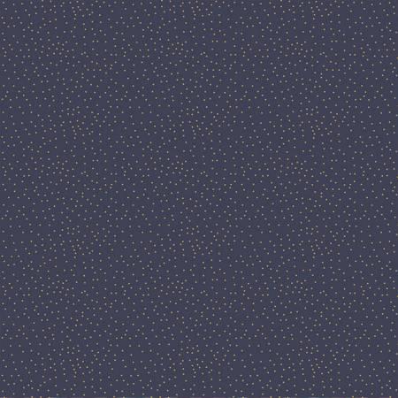 Night of the Nutcracker - Gold Dots on Dark Blue